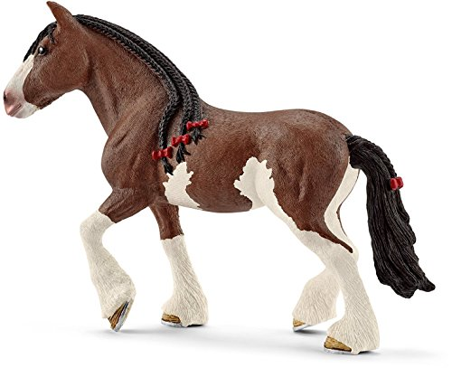Schleich North America Clydesdale Mare Toy Figure [並行輸入品]