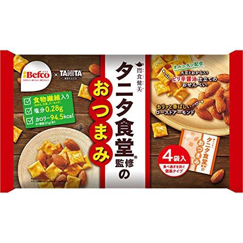 栗山米菓 タニタ食堂監修のおつまみ 84g(21g×4袋)×1袋