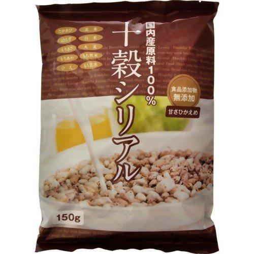 旭食品 十穀シリアル 国内産原料100% 150g ×6セット