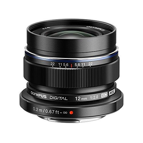 Olympus M.Zuiko Digital - Wide-angle lens - 12 mm - f/2.0 ED - Micro Four Thirds