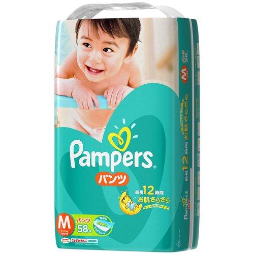 【まとめ買い】パンパース さらさらケア パンツ Mサイズ58枚 X 4個