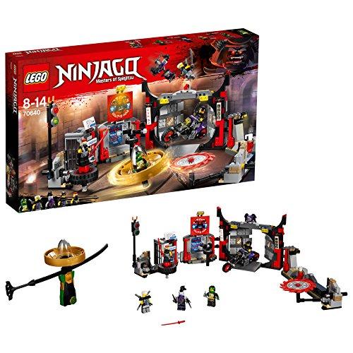 レゴ(LEGO) ニンジャゴー チーム・ブラックガーマドンの地下道場 70640