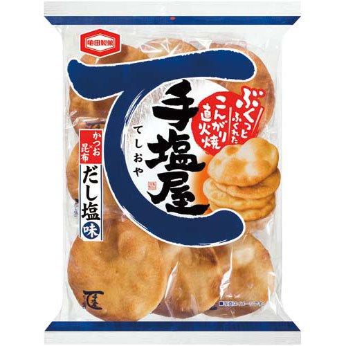 亀田製菓 手塩屋 だし塩味 9枚×3パック入