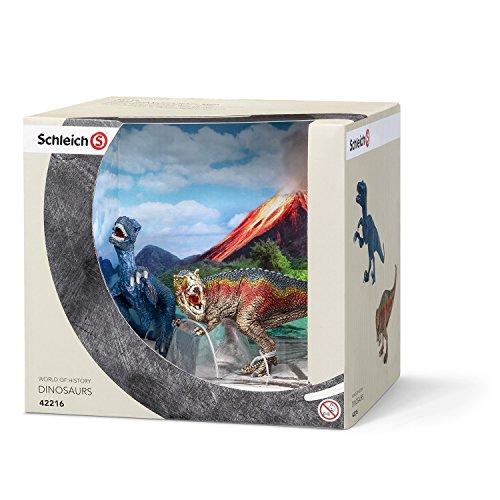 Schleich T-Rex & Velociraptor Set [並行輸入品]