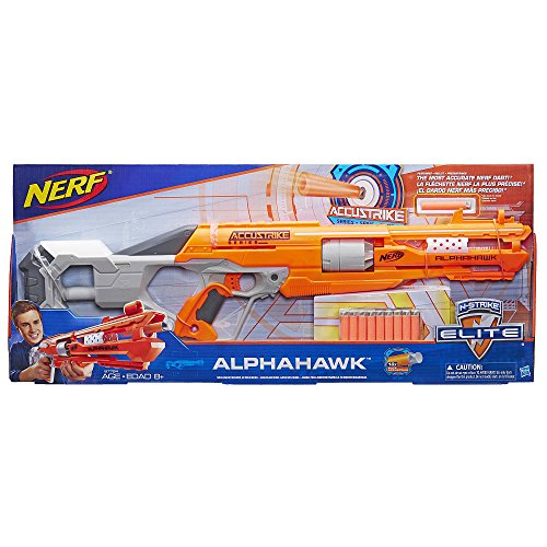 NERF N-Strike Elite AccuStrike Series AlphaHawk Blaster ナーフNストライク エリートアキュストライクシリーズアルファハワイブラスタ [並行輸入品]