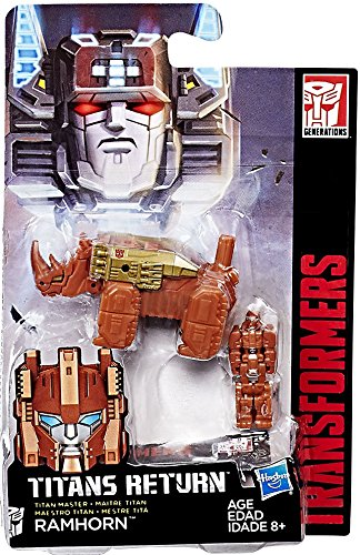 Transformers Gen Titan Master Ramhorn Action Figure