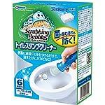 スクラビングバブル トイレ洗浄剤 トイレスタンプクリーナー フレッシュソープの香り 本体 (ハンドル1本+付替用1本) 6スタンプ分 38g