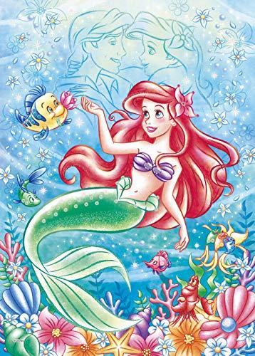 500ピース ジグソーパズル ディズニー Ocean Romance -Ariel-(オーシャンロマンス-アリエル-) 【パズルデコレーション】(38x53cm)