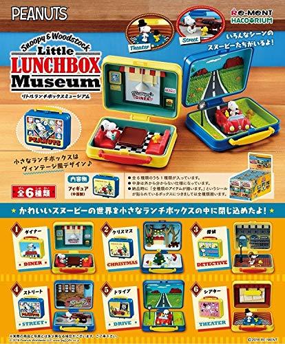 スヌーピー & WOODSTOCK Little Lunchbox Museum BOX商品 1BOX=6個入り、全6種類