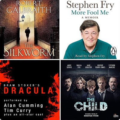 Spetembers best selling audiobooks
