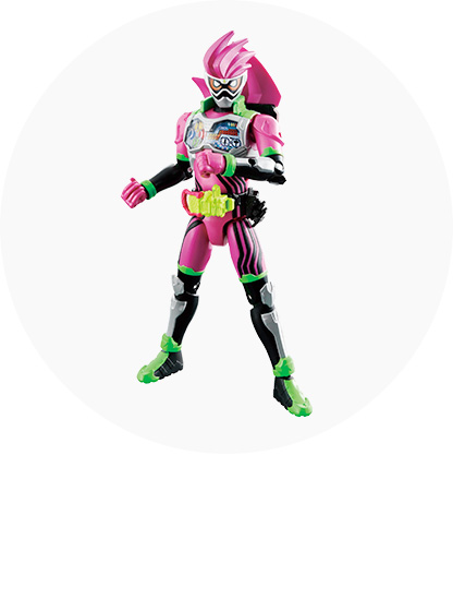 仮面ライダーエグゼイドのおもちゃ