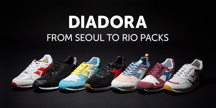 """  DIADORA FROM SEOUL TO RIO PACKS"""