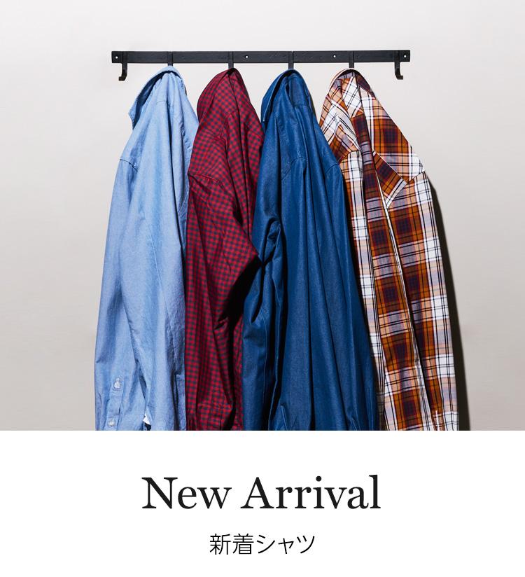 新着シャツ