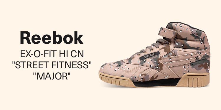 "Reebok EX-O-FIT HI CN ""STREET FITNESS"" ""MAJOR"""