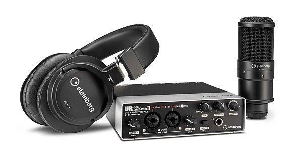 Steinberg スタインバーグ オールインワンセット UR22mkII Recording Pack