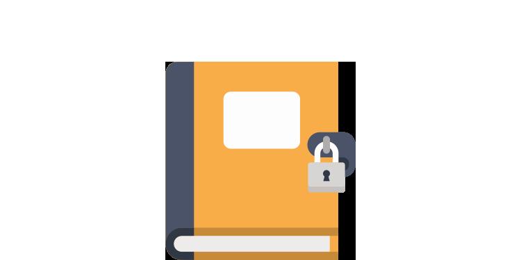 ファイルやビデオなどの安全なストレージ