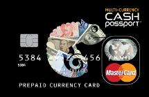 海外専用プリペイドカード 「マルチカレンシーキャッシュパスポート」
