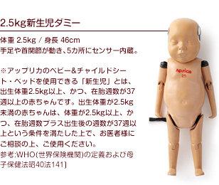 2.5kg新生児ダミー