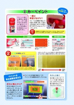 (2)カーペイント【塗装のコツを知ろう】