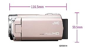 平均的なビデオカメラのサイズ