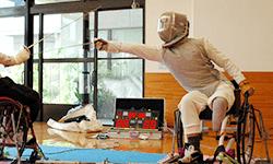 加納 慎太郎 選手 | 車いすフェンシング