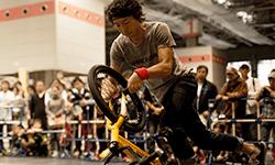 井谷 雅 選手 | BMX Flatland