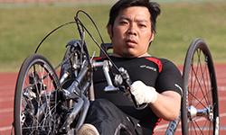 永野 明 選手 | ハンドバイク