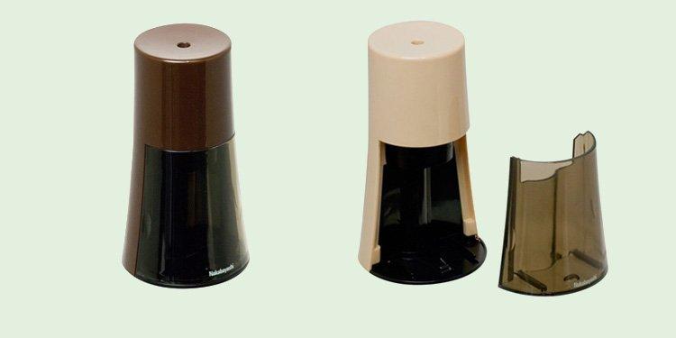 ナカバヤシ 電動鉛筆削りき タワータイプ ブラウン DPS-401BR