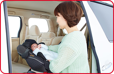 赤ちゃんが最も安定して呼吸できる姿勢を保つ