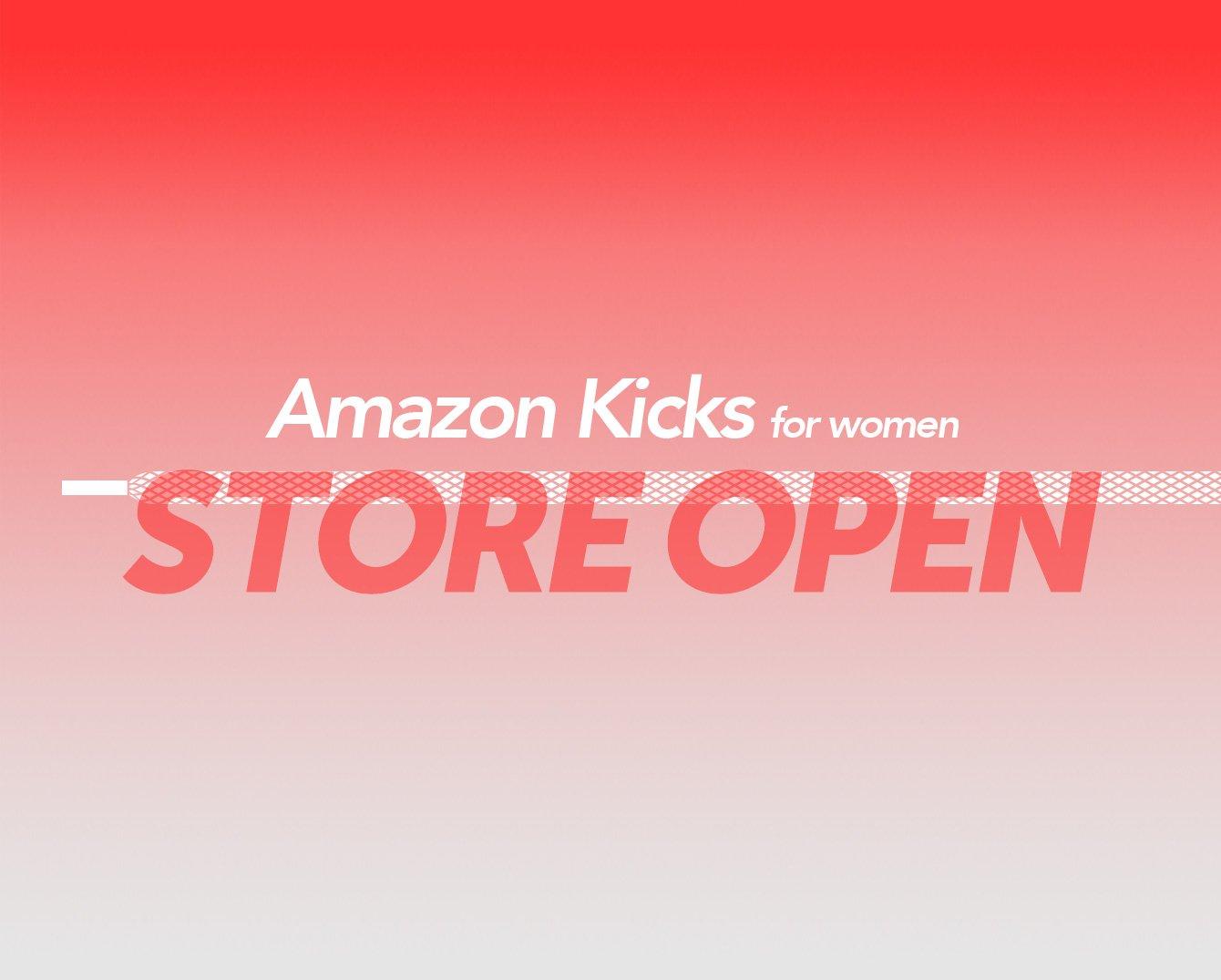 Amazon Kicks woman