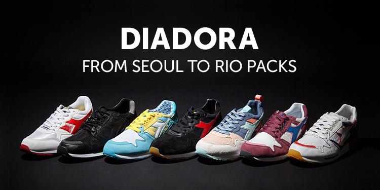 DIADORA  FROM SEOUL TO RIO PACKS