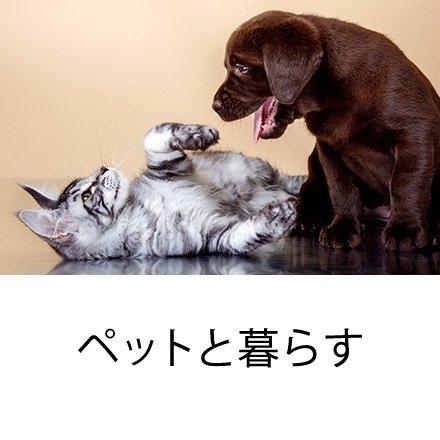 ペットと暮らす
