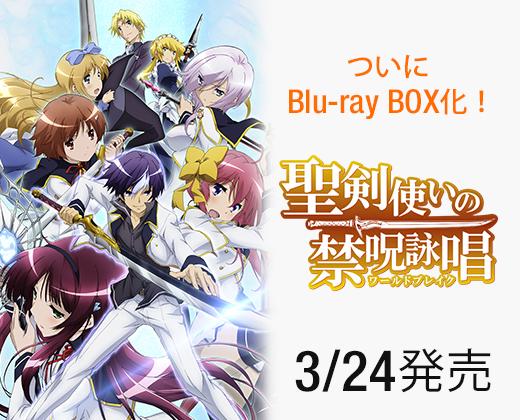 聖剣使いの禁呪詠唱BDBOX