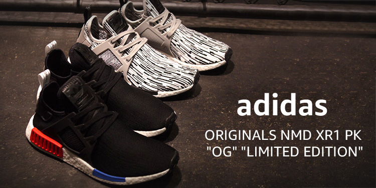 "adidas Originals NMD XR1 PK ""OG"" ""LIMITED EDITION"""