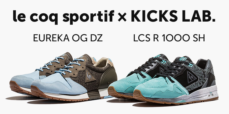 le coq sportif ×KICKS LAB. <EUREKA OG DZ><LCS R 1000 SH>