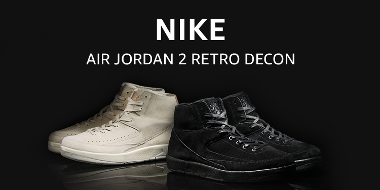 NIKE AIR JORDAN 2 RETRO DECON