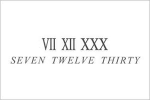 SEVEN TWELVE THIRTY