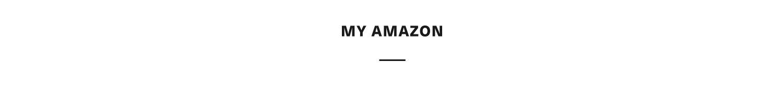 MY AMAZON