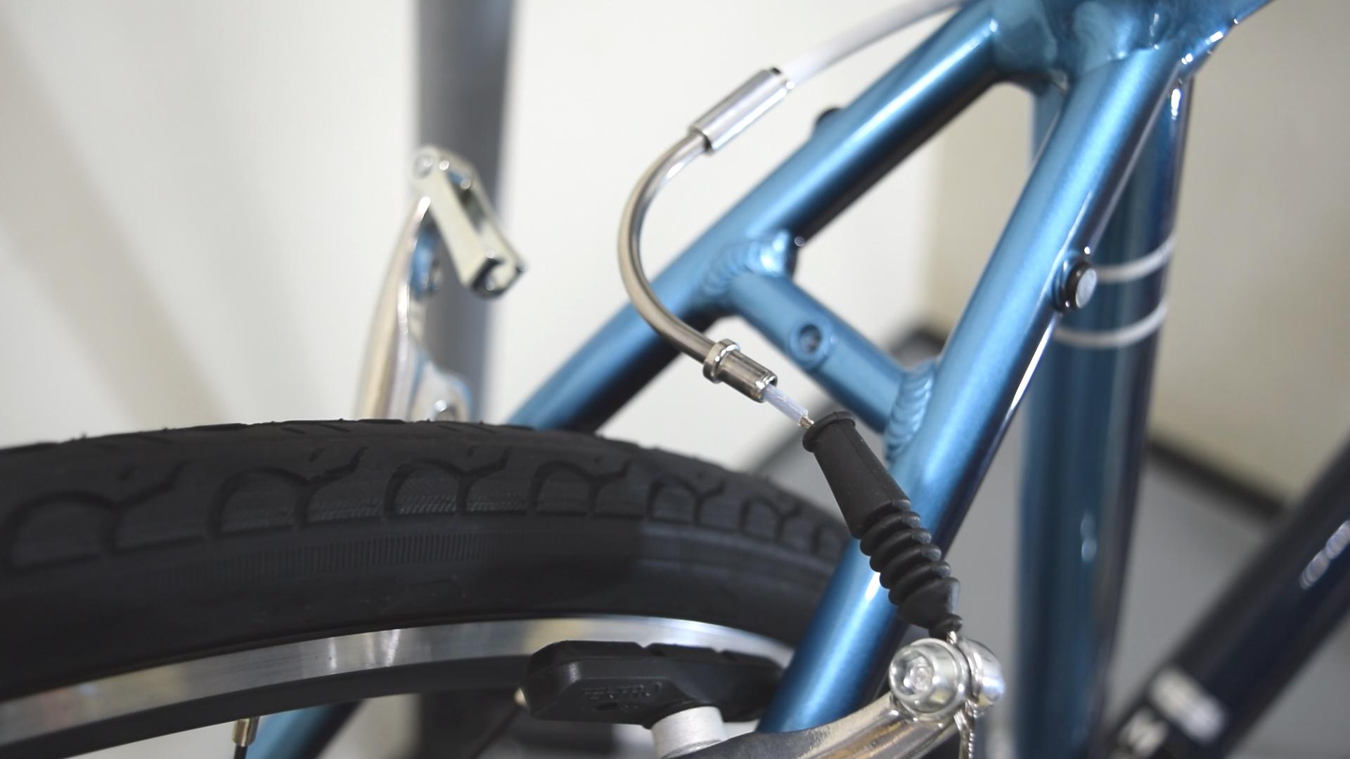 方 自転車 ブレーキ 直し