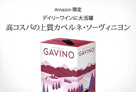 ワイン | 【Amazon.co.jp限定】ガヴィーノ チリ産カベルネソーヴィニヨン 箱入りワイン