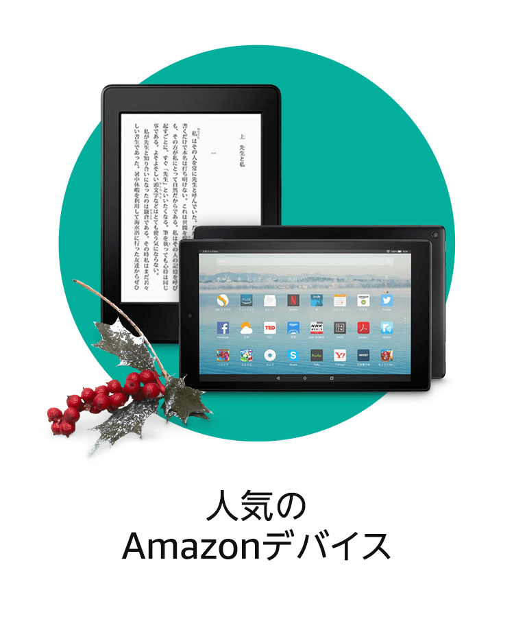 人気のAmazonデバイス