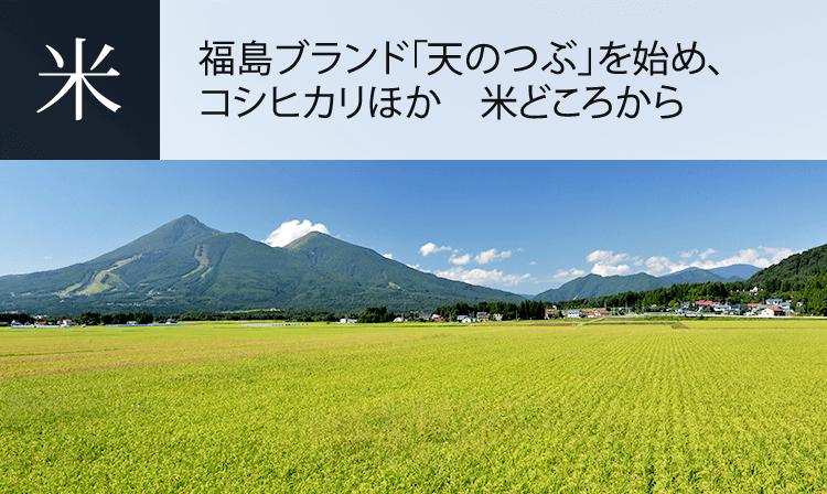 福島県の特産品:お米