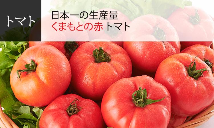 日本一の生産量 くまもとの赤 トマト