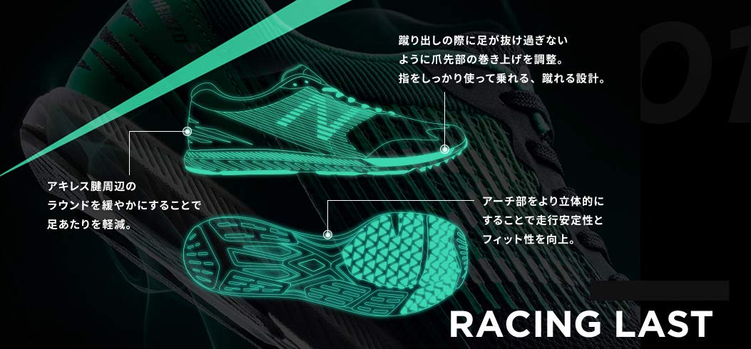RACING LAST