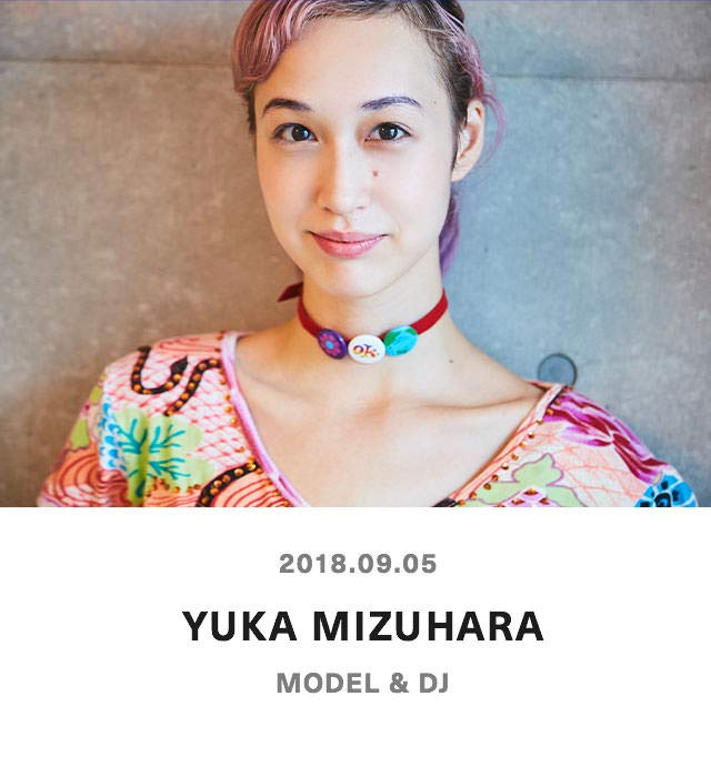 YUKA MIZUHARA - MDOEL & DJ