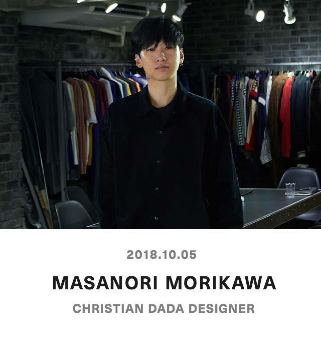 MASANORI MORIKAWA - CHRISTIAN DADA DESIGNER