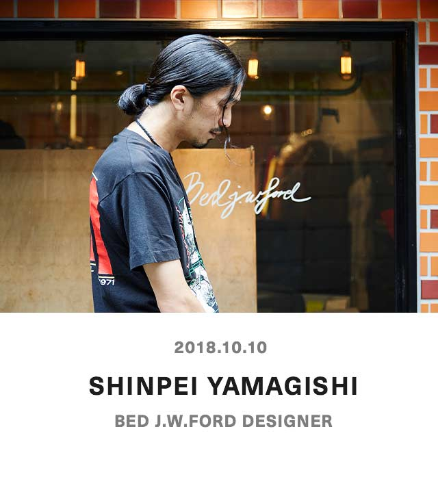 SHINPEI YAMAGISHI - BED |.W.FORD DESIGNER