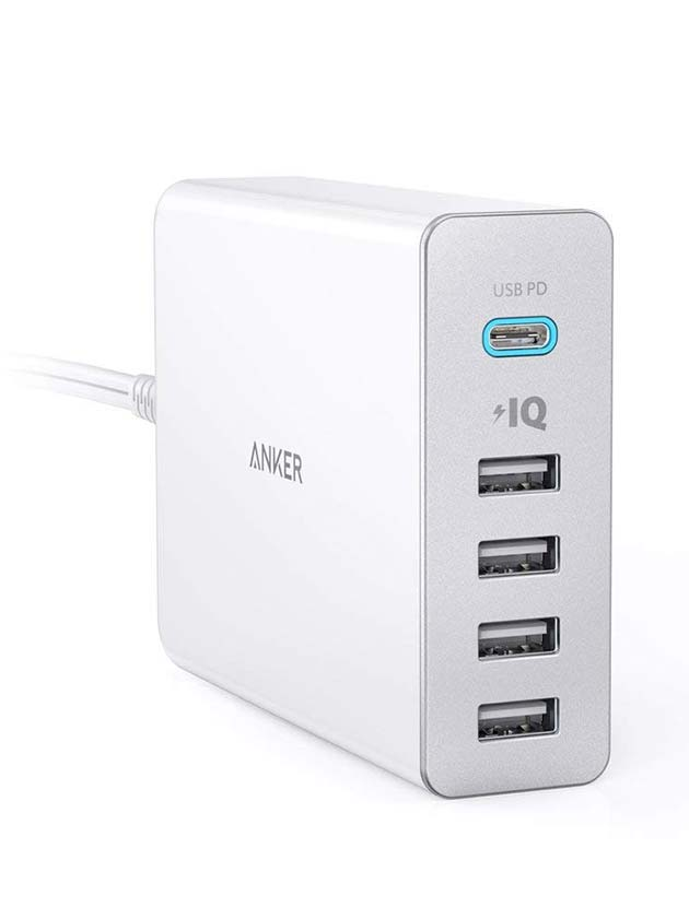 PowerPort+ 5 USB-C Power Delivery (Anker)