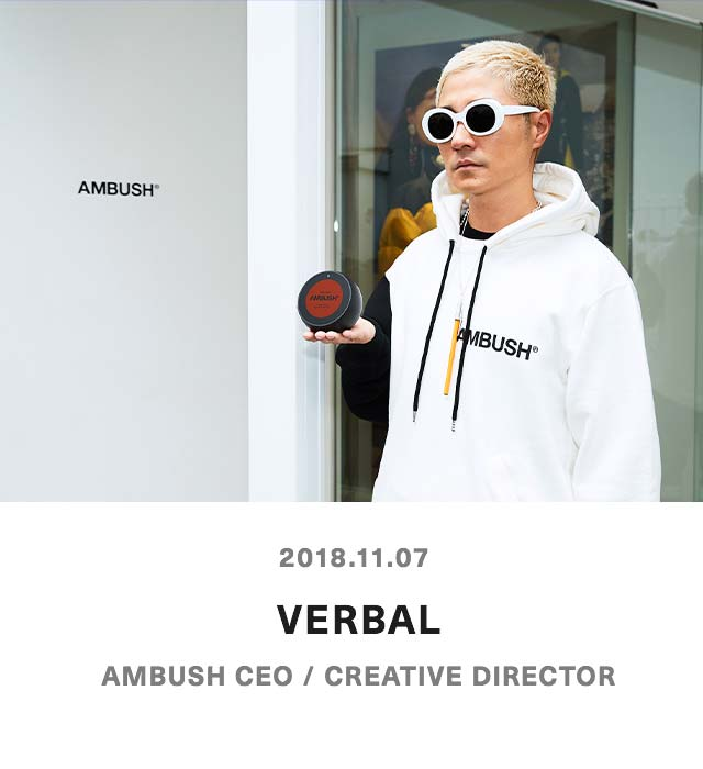 VERBAL - AMBUSH CEO / CREATIVE DIRECTOR
