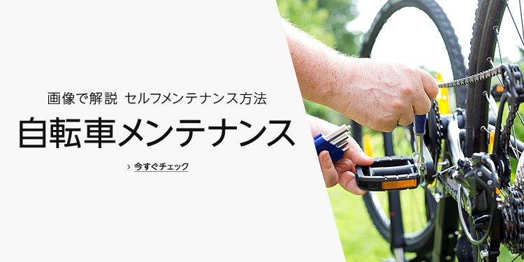 自転車メンテナンスガイド 画像で解説 セルフメンテナンス方法